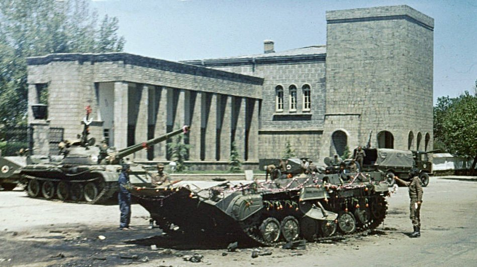 The day after the Saur revolution in Kabul. Photp: Wikimedia Commons